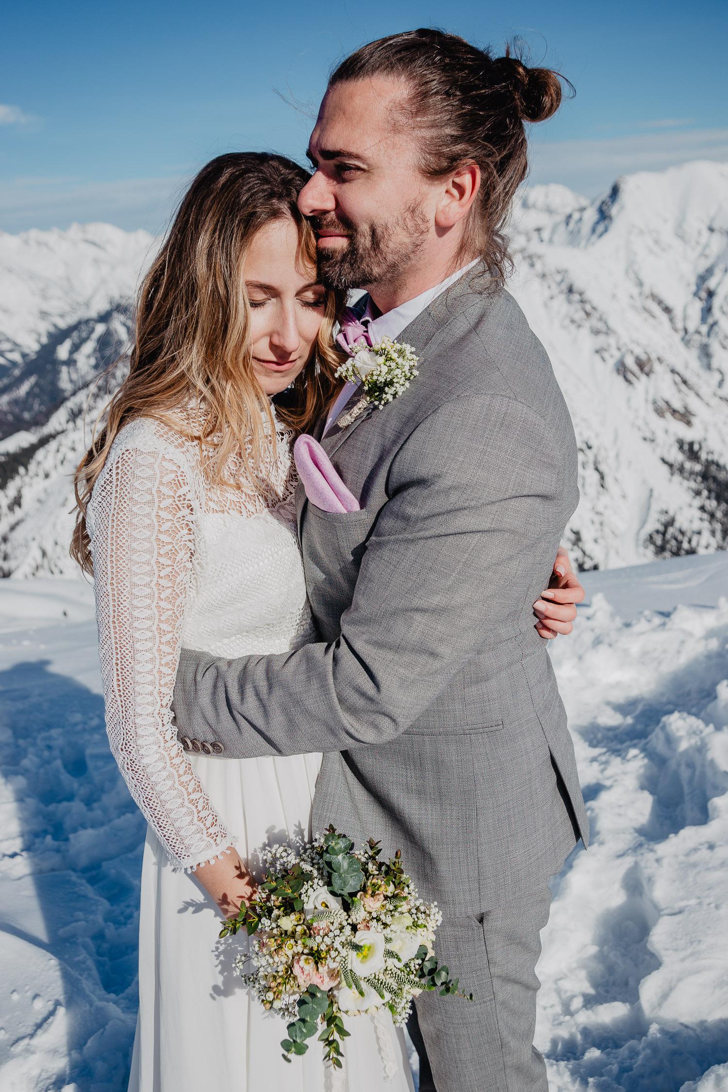 Hochzeitsfotograf Winterhochzeit Seefeld 11