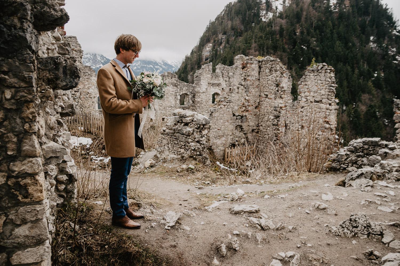 Hochzeitsfotograf Elopement Reutte Ehrenberg 15