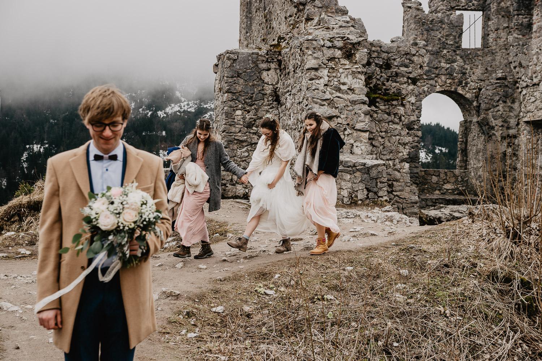 Hochzeitsfotograf Elopement Reutte Ehrenberg 17