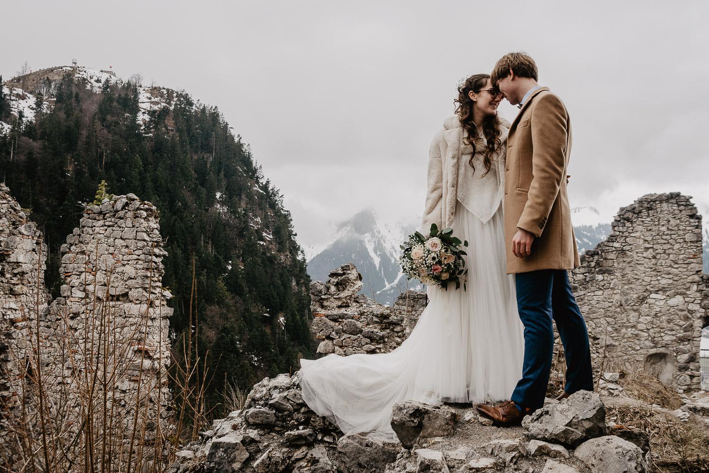 Hochzeitsfotograf Elopement Reutte Ehrenberg 25